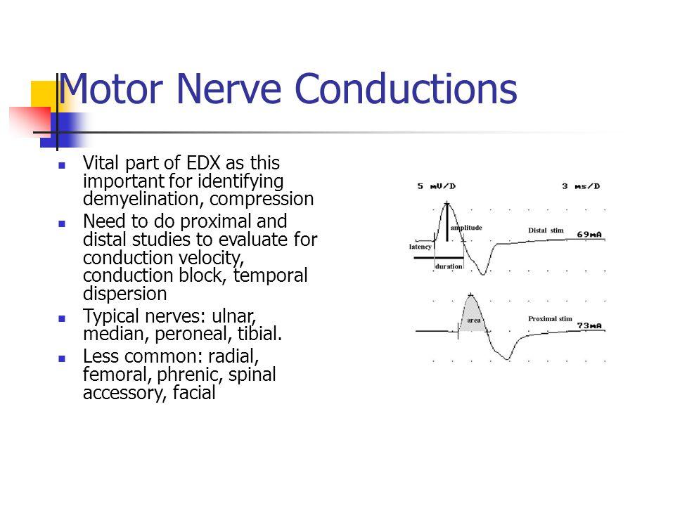 Nerve conduction studies facial