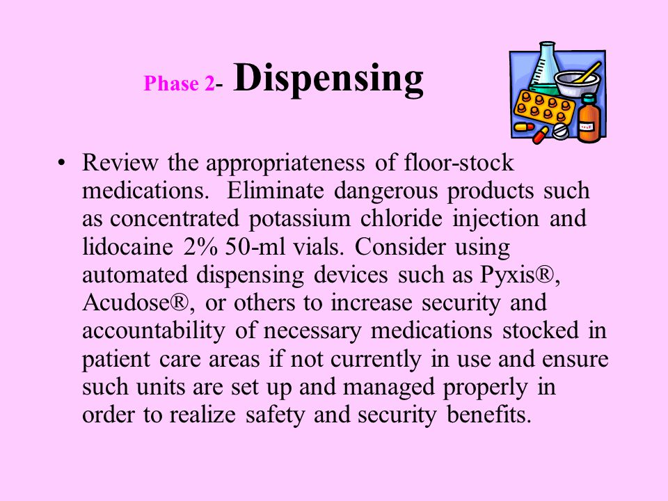 Phase 2- Dispensing