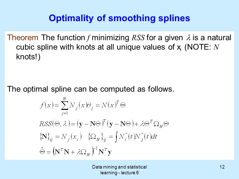 Data mining and statistical learning - lecture 6 - ppt video