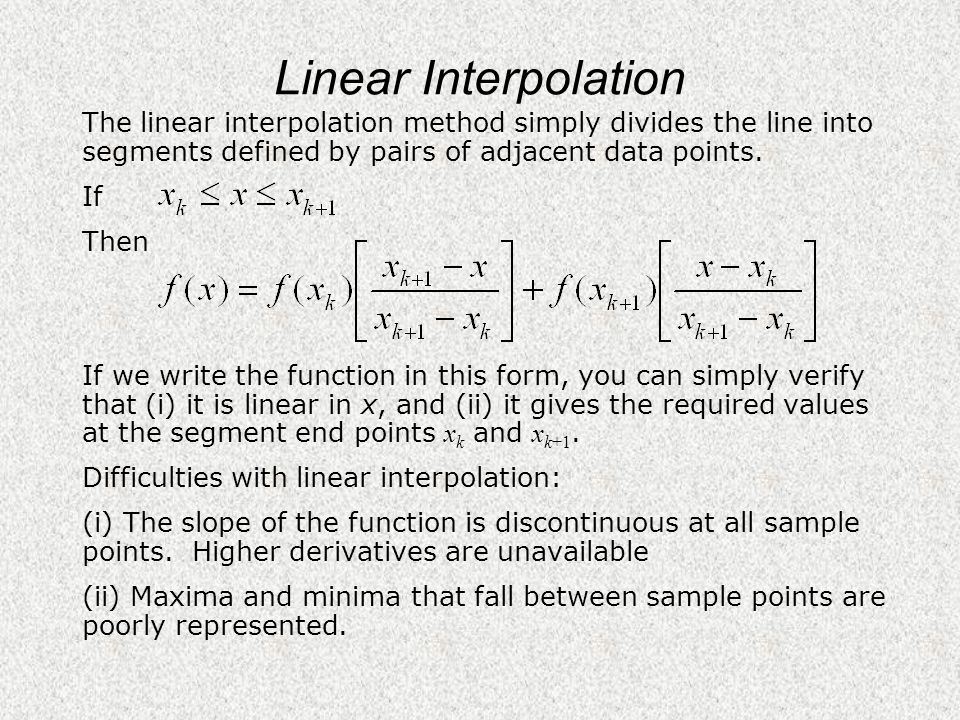 EARS1160 – Numerical Methods notes by G  Houseman - ppt