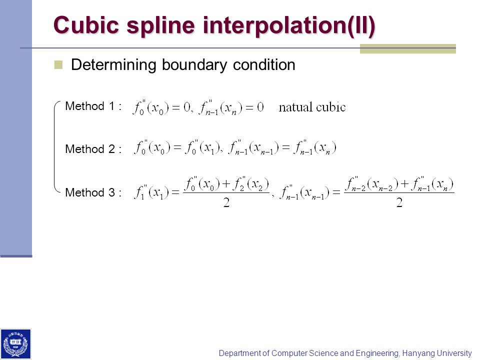Numerical Analysis –Interpolation - ppt video online download