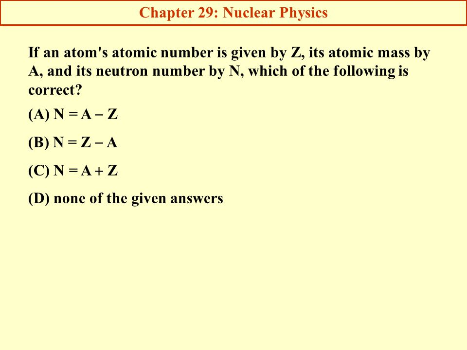 chapter 30 nuclear physics ppt download rh slideplayer com Atomic Particle Accelerator Atomic Nuclear Core