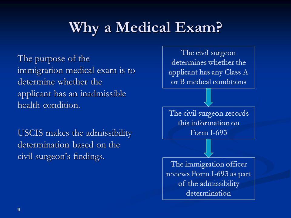 Immigration Medical Exams Form I Ppt Video Online Download