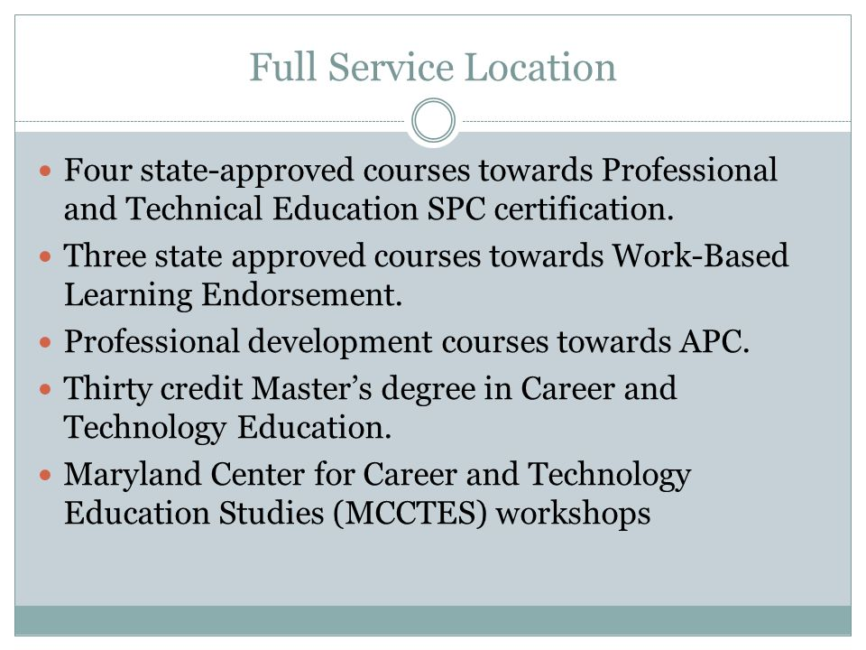 Career And Technology Education Programs Ppt Video Online Download