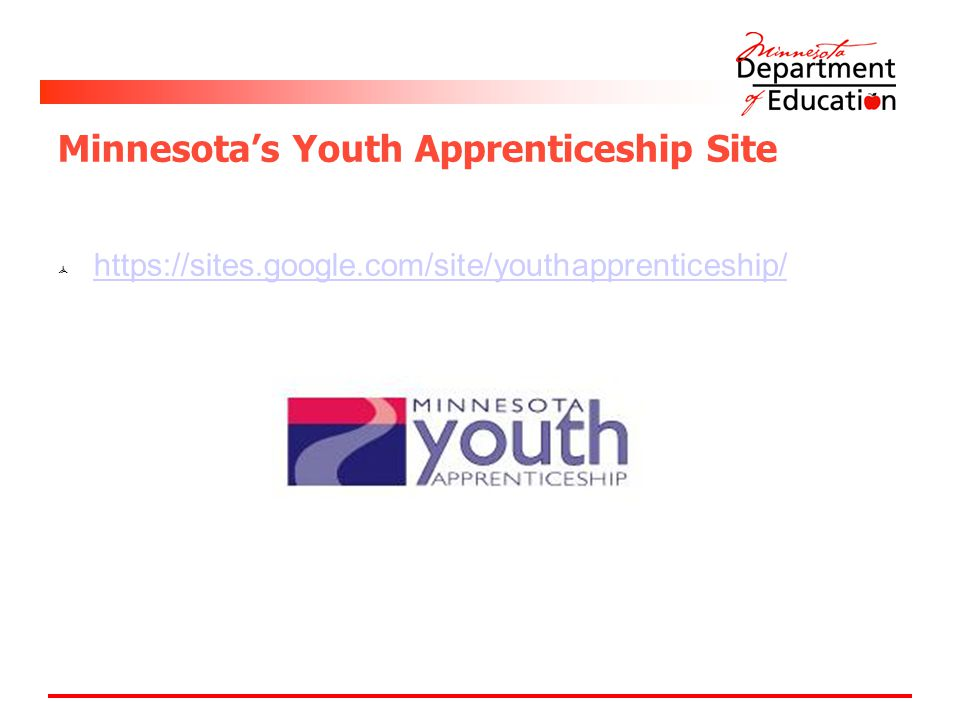 Minnesota's Youth Apprenticeship Site