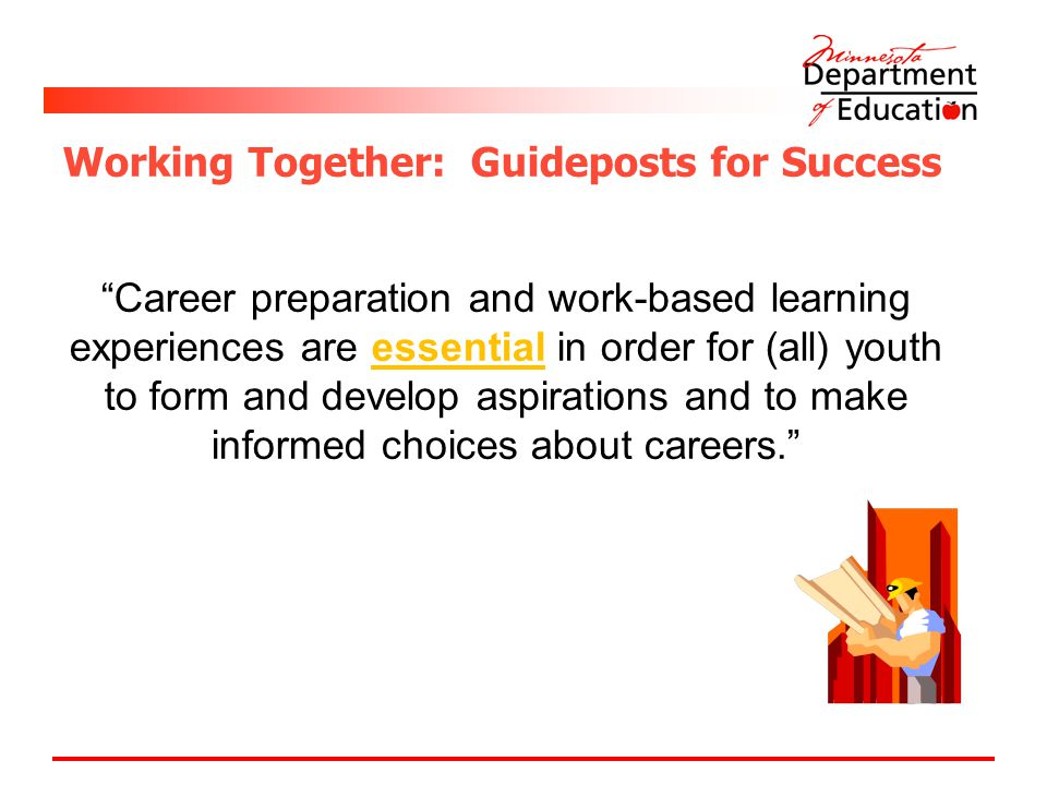 Working Together: Guideposts for Success
