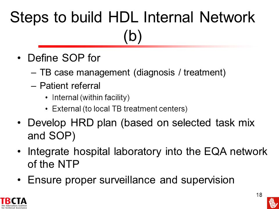 Steps to build HDL Internal Network (b)