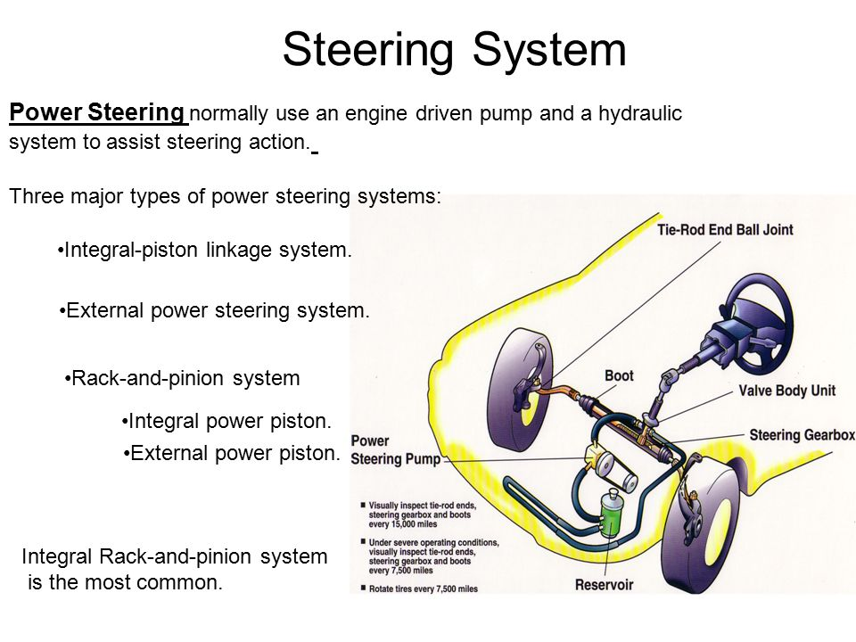 Steering System Function Of Steering System Ppt Video Online Download