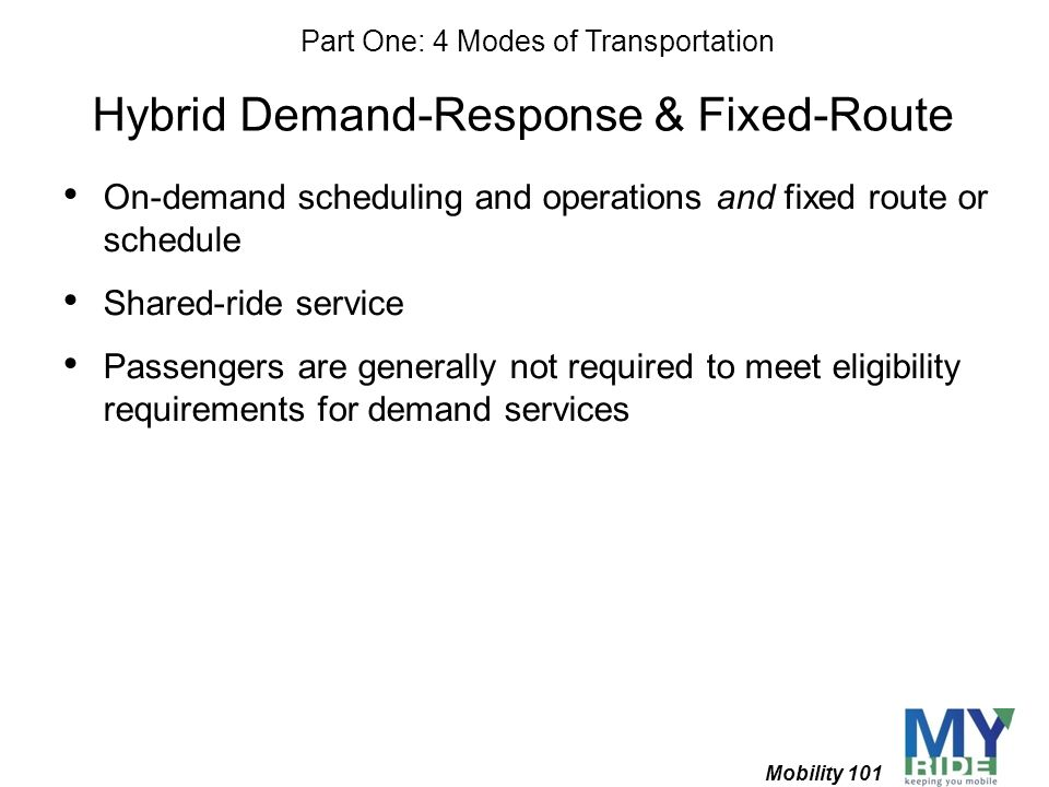 Hybrid Demand-Response & Fixed-Route