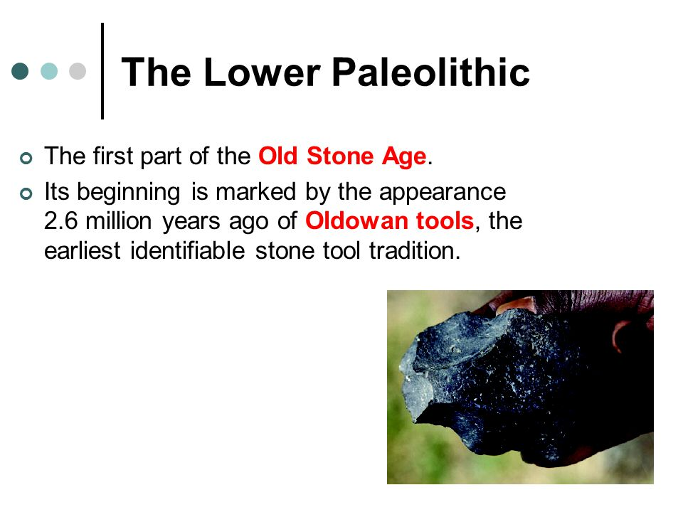lower paleolithic stone tools