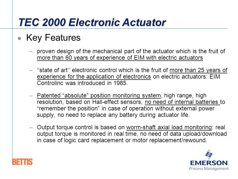 bettis electric actuators ppt download York Furnace Wiring Diagram at Eim Tec 2000 Wiring Diagram