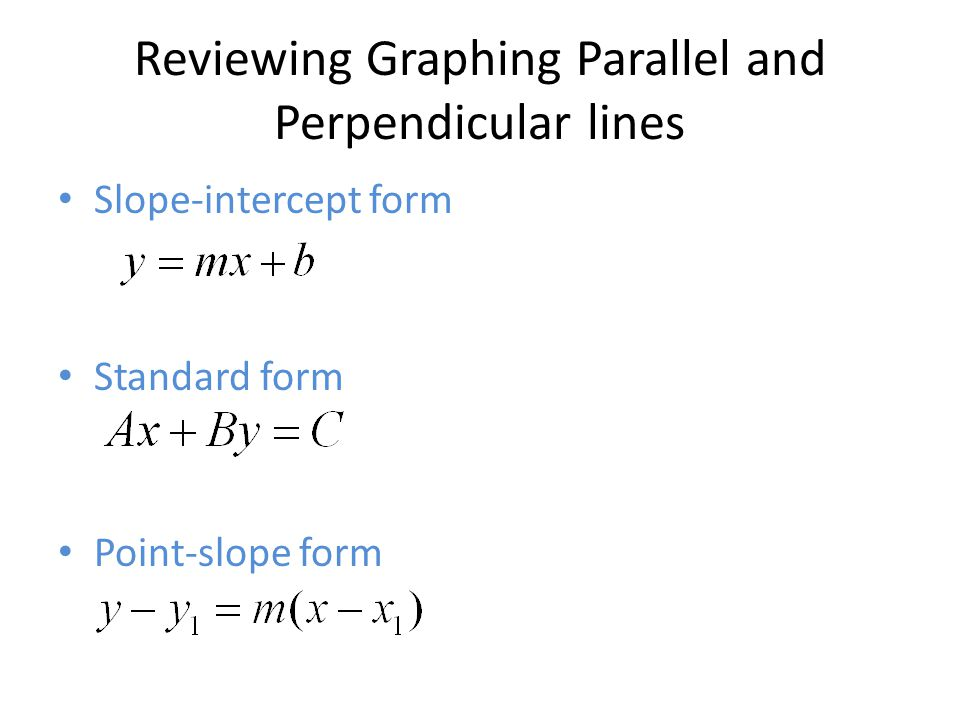 33 36 37 Parallel And Perpendicular Lines Ppt Download
