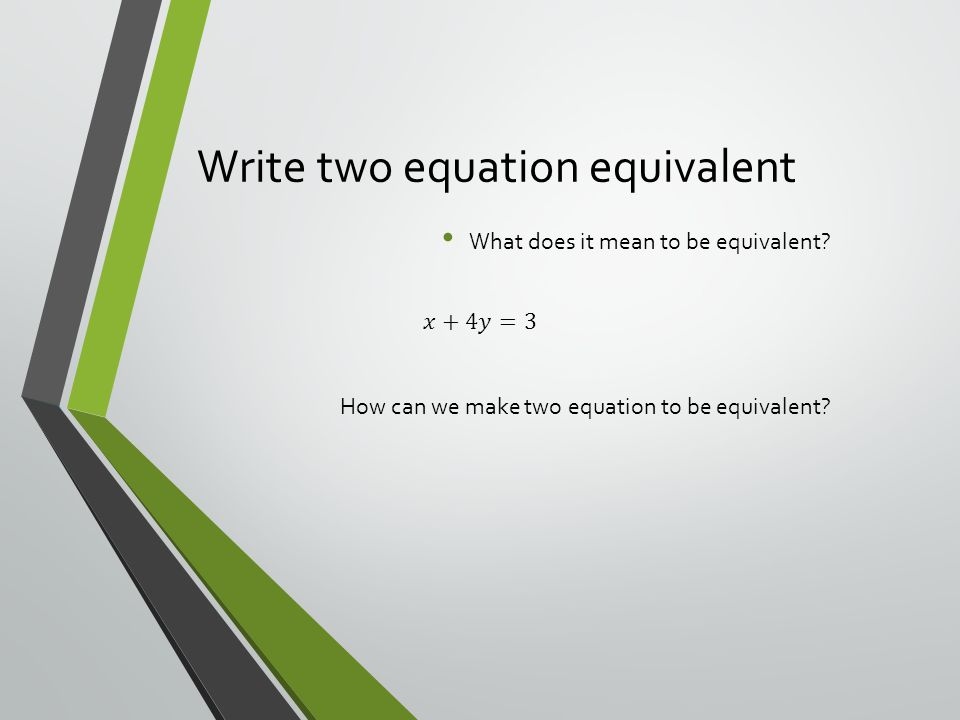 Writing Linear Equation In Standard Form Ppt Download