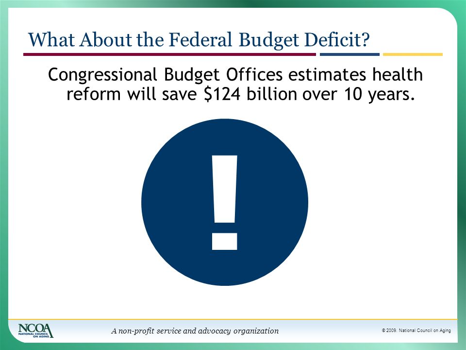 What About the Federal Budget Deficit
