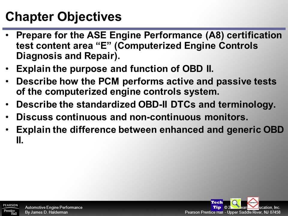 Chapter Objectives Prepare For The Ase Engine Performance A8
