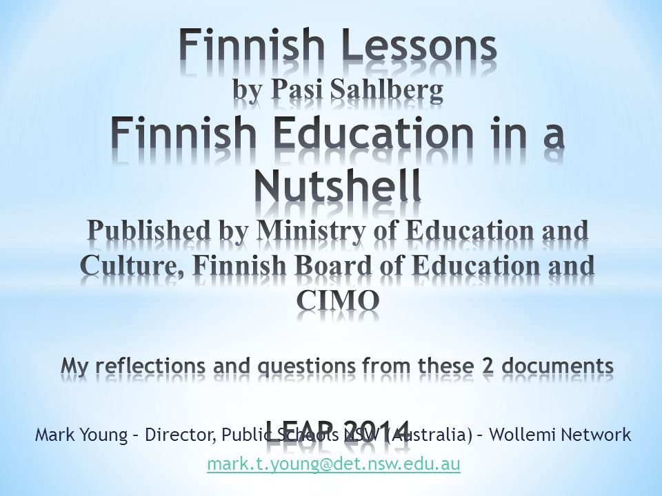 finnish ministry of education and culture