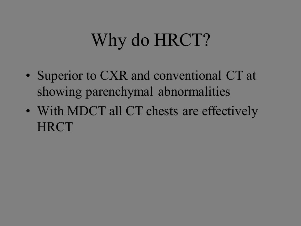 how to read interstitual lung disease hrct