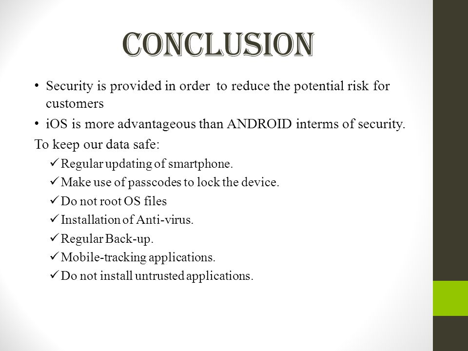IOS VS ANDROID Presented by, Lowkya Pothineni  - ppt download