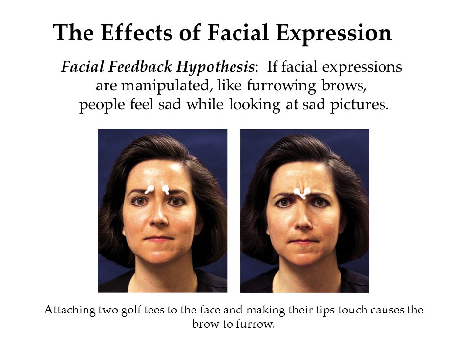 Ekmans facial feedback theory