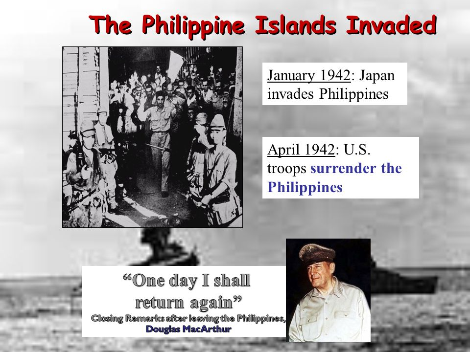 The Philippine Islands Invaded