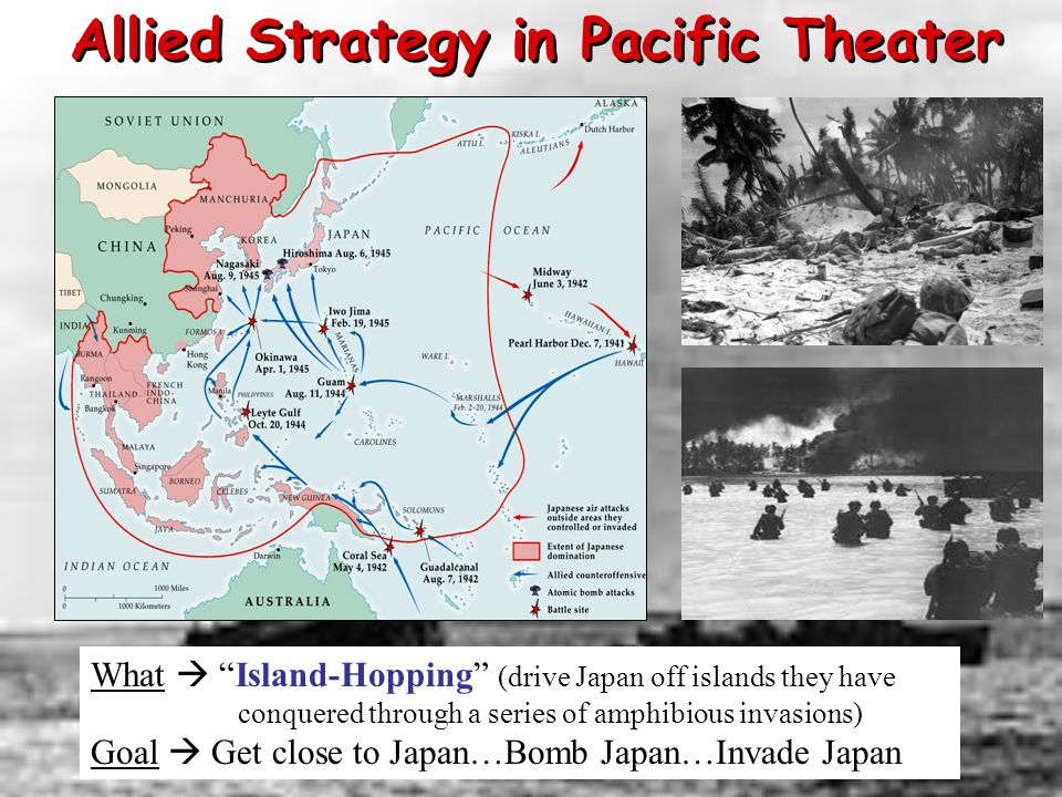Allied Strategy in Pacific Theater