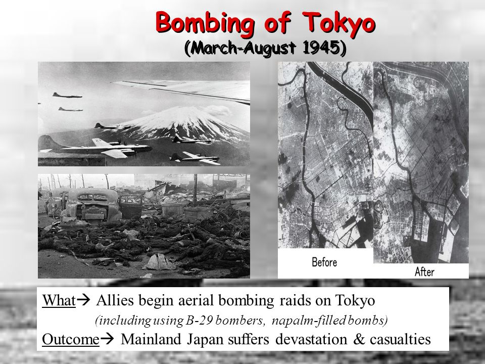 Bombing of Tokyo (March-August 1945)