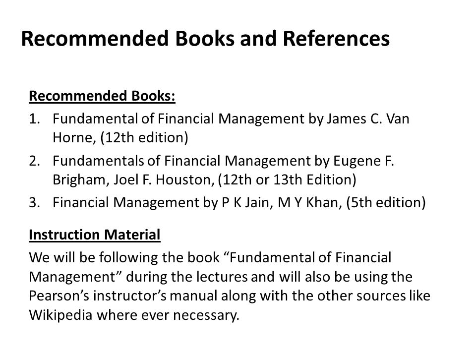 Fundamental Of Financial Management Book