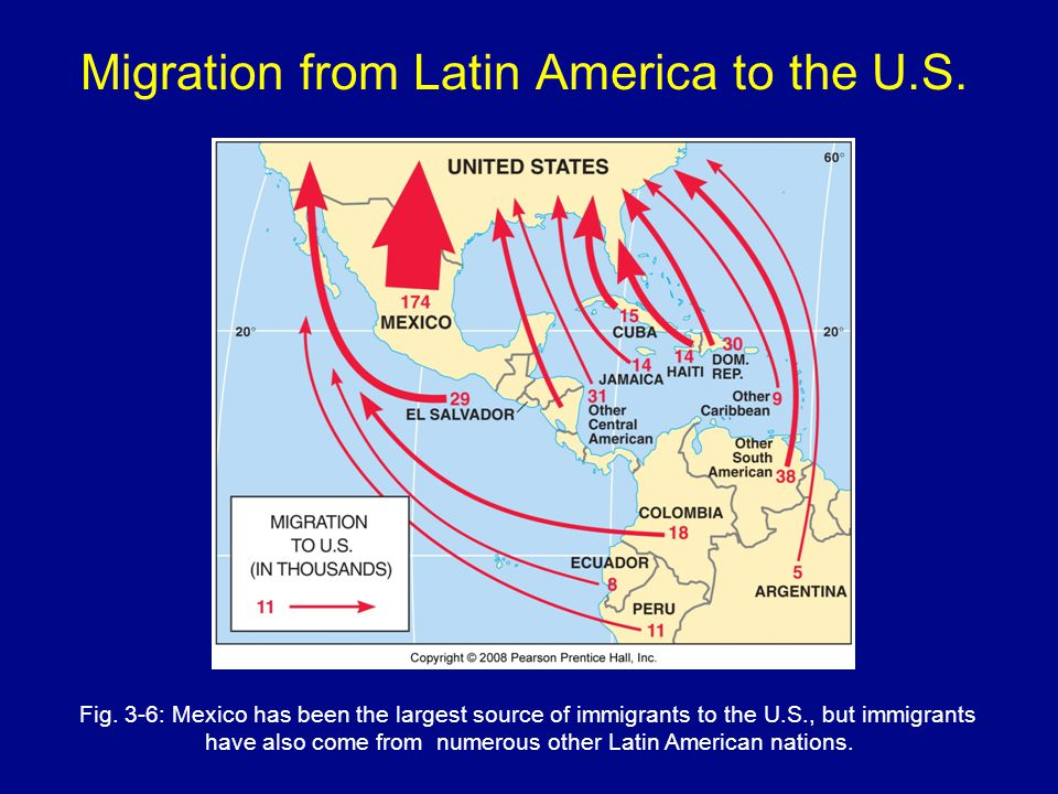 Migration from Latin America to the U.S.
