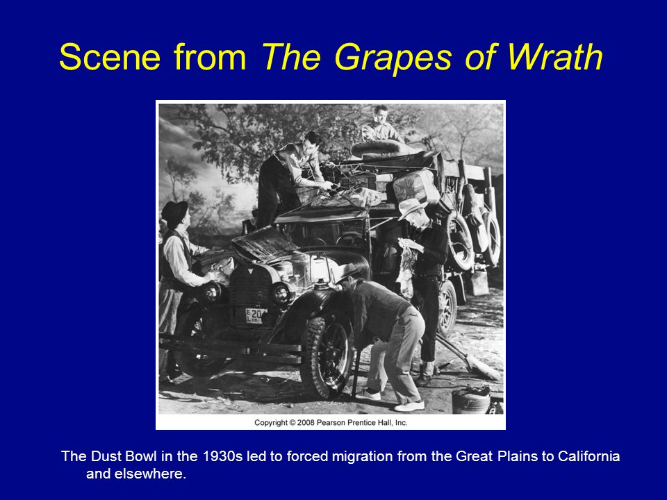 Scene from The Grapes of Wrath