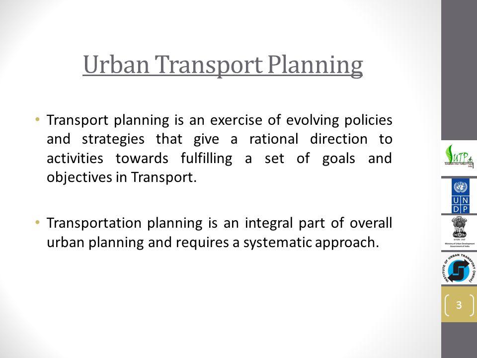 Urban Transport Planning - ppt video online download