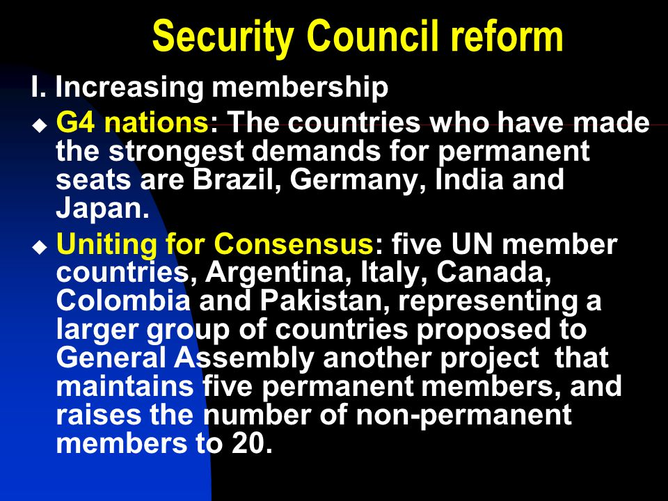 un reform Un reform is critical for building unesco's reputation and relevance in the region as it helps to determine the reality of our leadership role and impact in our areas of competence, thus allowing us to increase our effectiveness in key areas.