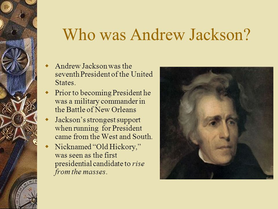 who was the seventh president of the united states
