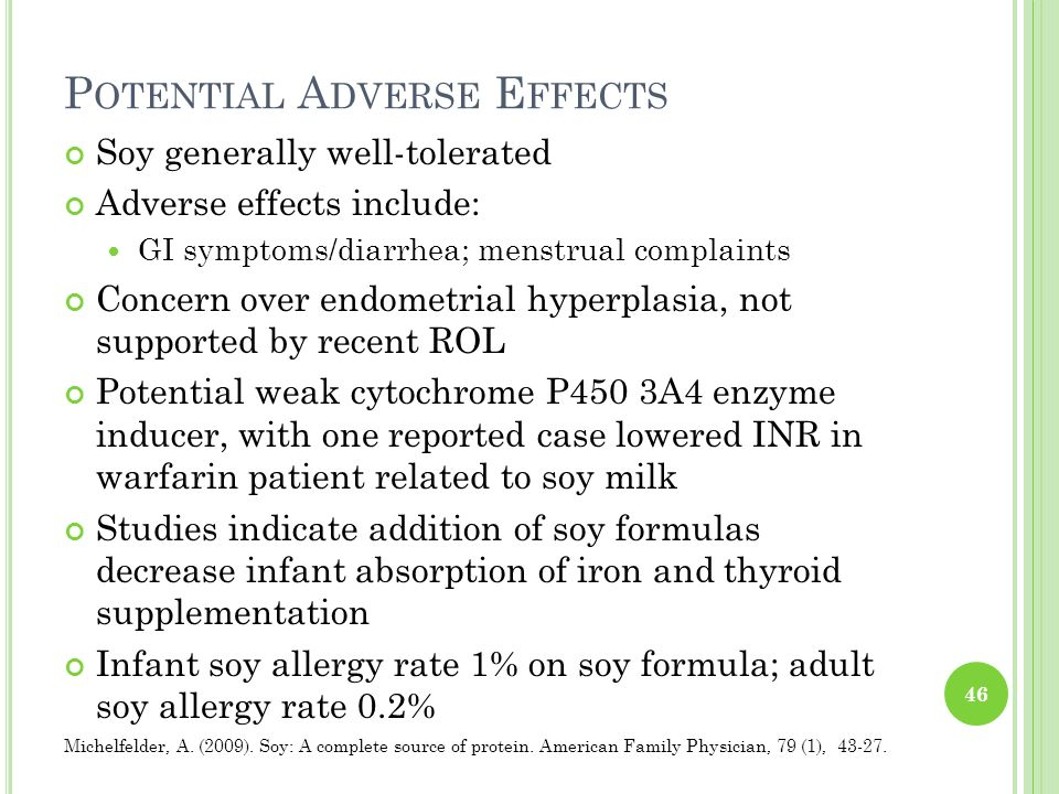 Potential Adverse Effects
