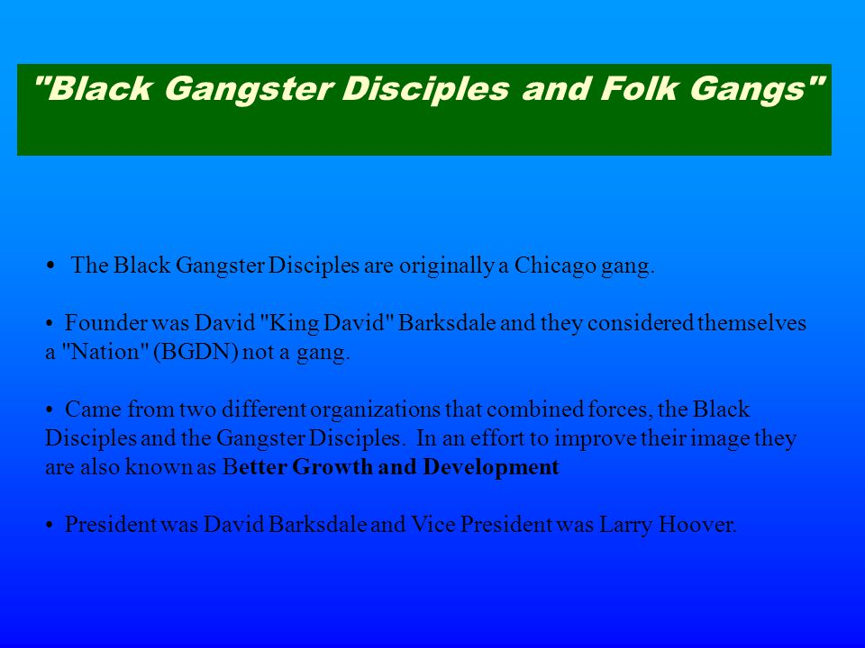 king david barksdale book knowledge