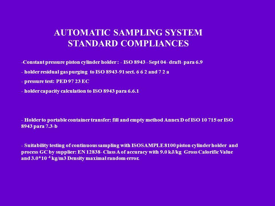 LNG SAMPLE TAKE-OFF PROBE - ppt video online download