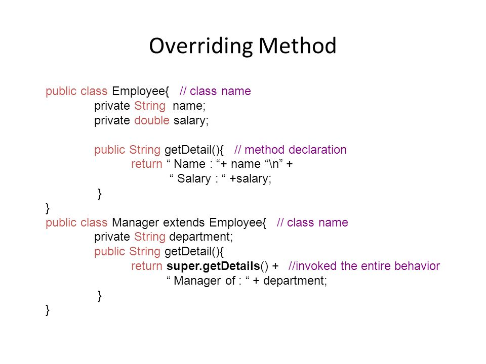 Intro to OOP with Java, C  Thomas Wu Inheritance and Polymorphism