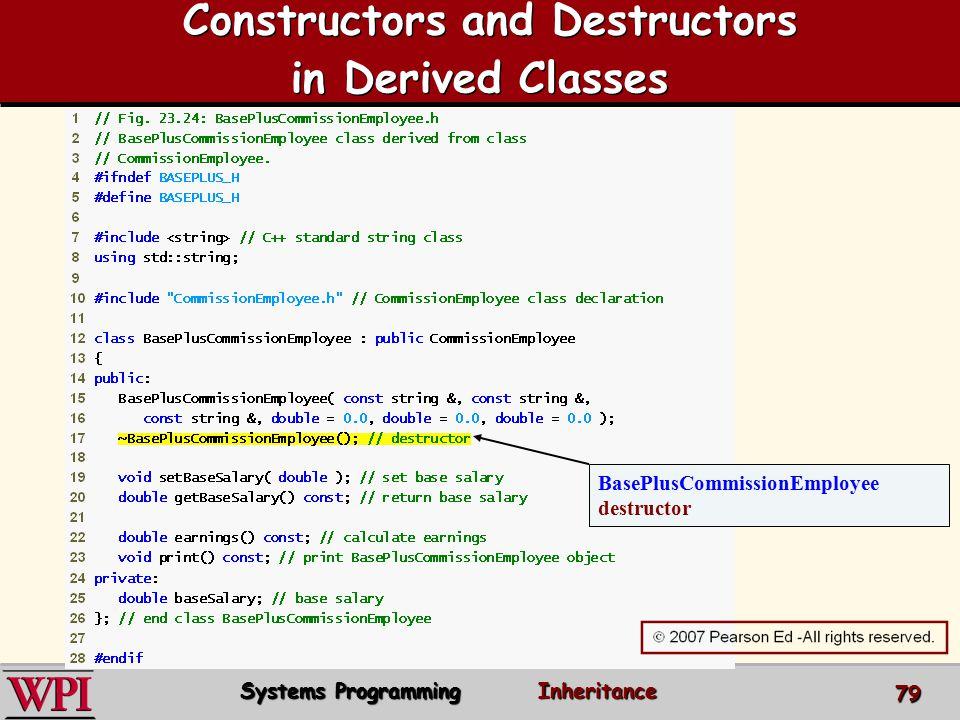 C++ Inheritance Systems Programming  - ppt download
