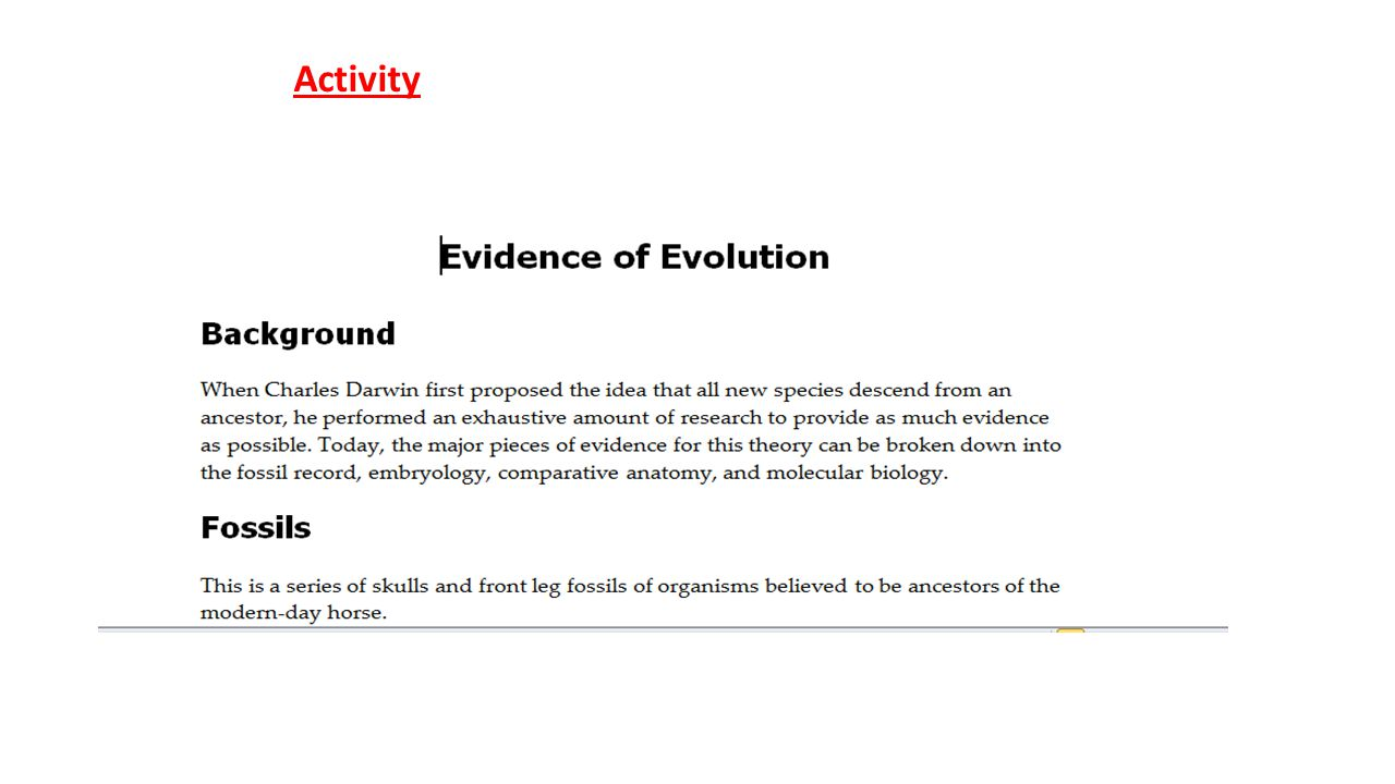 Unit 10: History of Biological Diver PAP Evolution: Darwin\'s travel ...