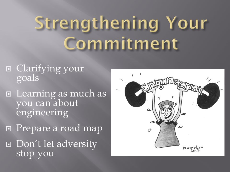 Strengthening Your Commitment