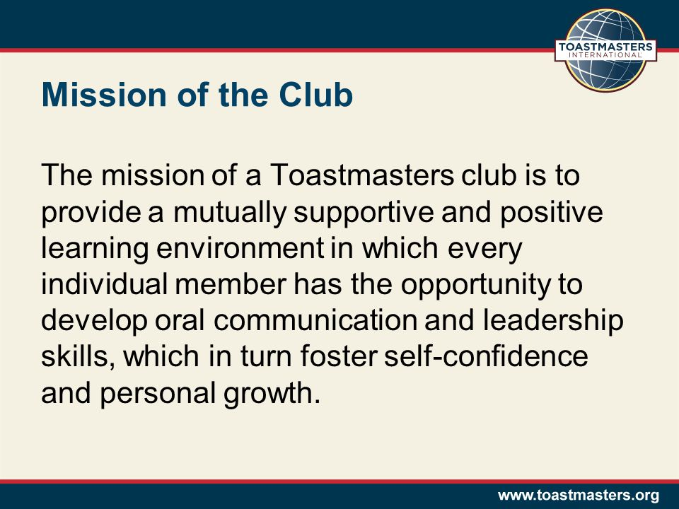 Rebuilding Toastmaster Clubs Club Coaching Workshop - ppt video ...