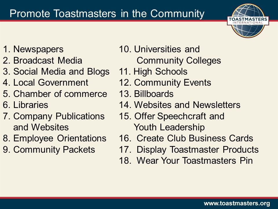 Rebuilding Toastmaster Clubs Club Coaching Workshop Ppt Video