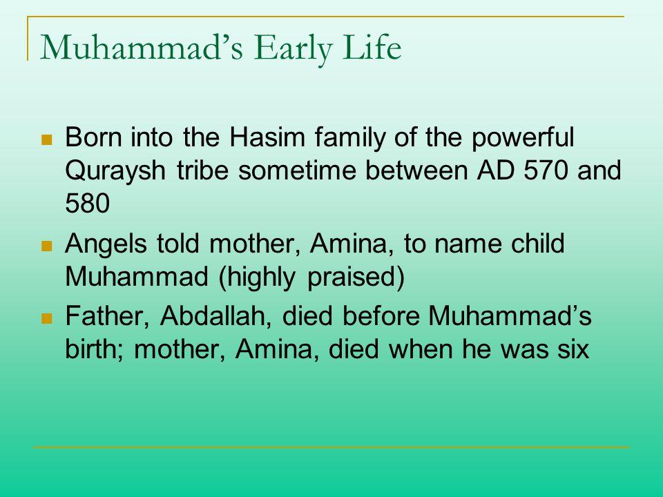 The Prophet Muhammad  - ppt video online download