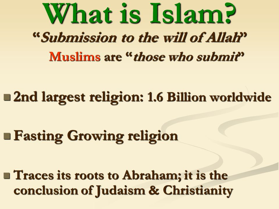 The Muslim World 600 – 1258 AD The Rise of Islam - ppt download