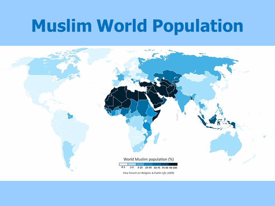 Muslim World Population