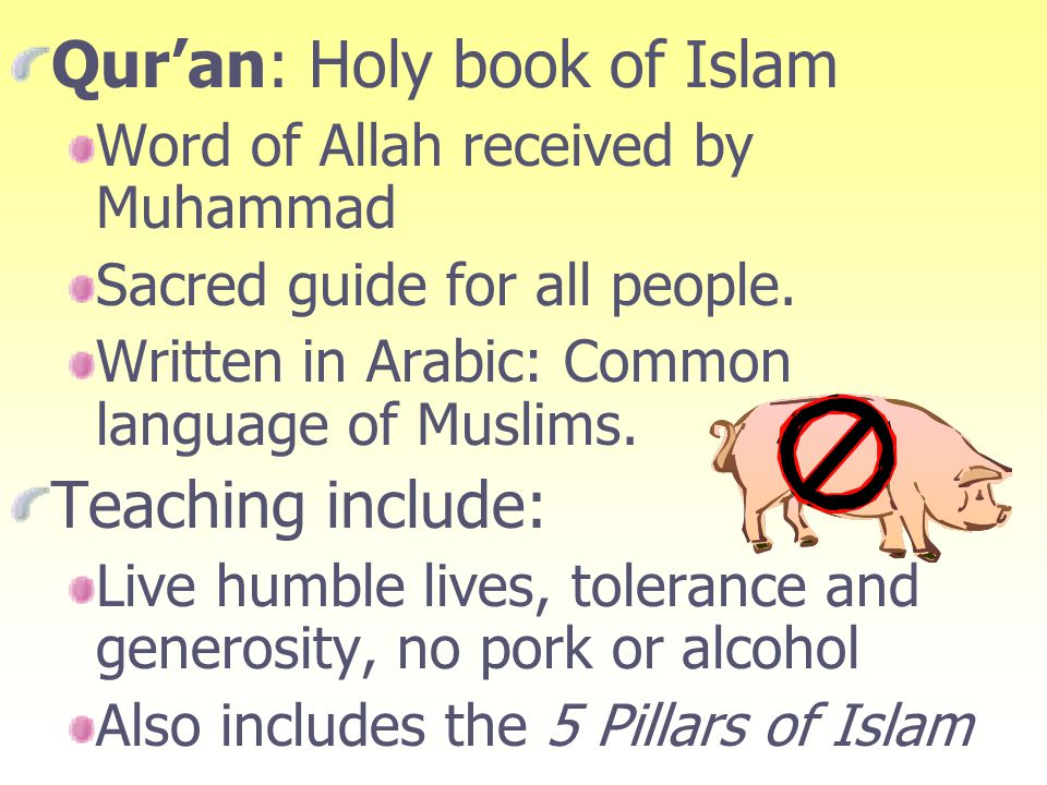 Qur'an: Holy book of Islam