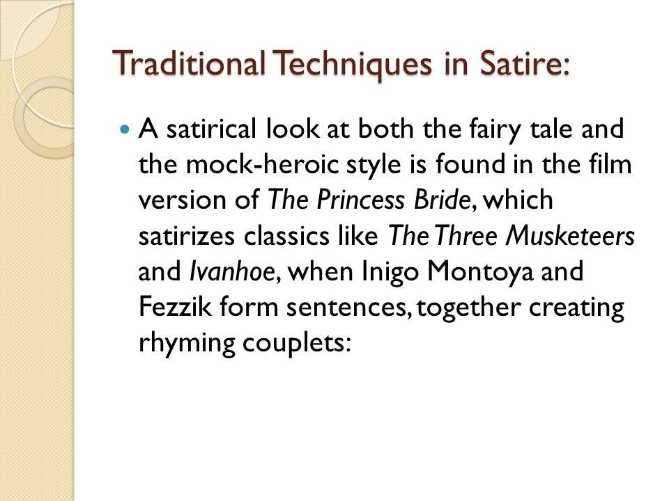 satirical writing definition