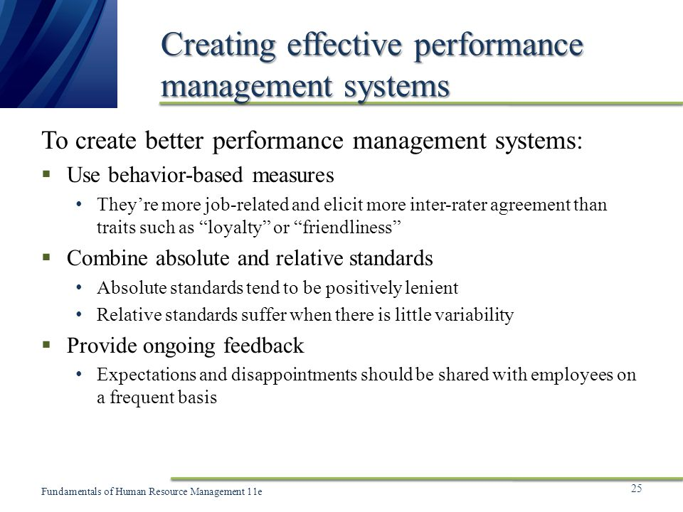 Chapter 10 Establishing The Performance Management System Ppt