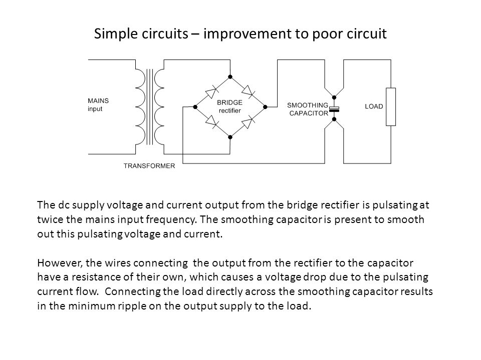 POOR & BAD CIRCUITS With acknowledgments to - ppt video