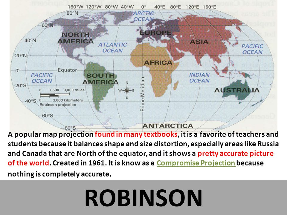 Geography and the Wonderful World of Maps and Map Projections - ppt ...
