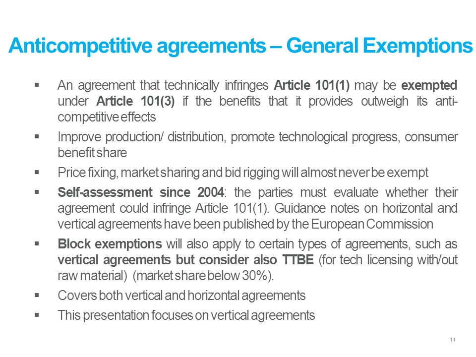 European Competition Law: - ppt download